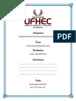 Convencion de Belen - UFHEC