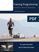 Endurance Training Programming