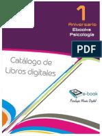 Catálogo 2015 de Libros Digitales Disponibles en Psicologia