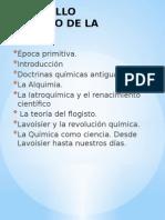 Desarrollo Historico de La Quimica1