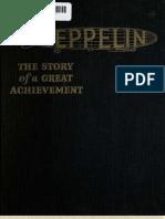 Zeppelin Airship History (1922)
