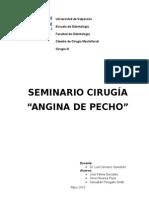 Informe de Angina de Pecho