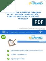 Estrategia E-Learning en la Consejeria de Innovacion ,Ciencia y Empresa de La Junta de Andalucia