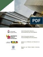 Manual de Procedimientos Sistema Calidad Grado Esic 2012.Desbloqueado