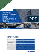 IRES - CRIZA IMIGRANTILOR - PERCEPTII PUBLICE