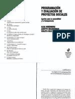 5 - Nirenberg - Brawerman - Ruiz - Programacion y Evaluacion de Proyectos Sociales - Cap 2