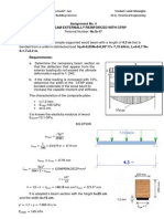 Composite Structures - Assignment No. 4