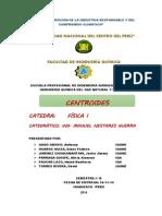 Informe de Centroides - Fisica