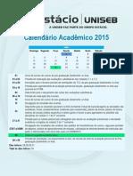 Calendario Acadêmico - 2015-2