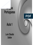 Aula_01  LP PORTUGUES