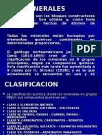 Clasificacion de Los Minerales