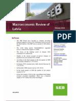 SEB Macroeconomic review of Latvia