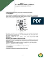 Diseño Mecanico I - Unidad V