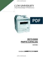 Ricoh AC205L Parts Catalog v01