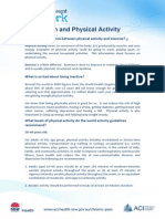 pain and physical activity