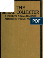 1921 Military Medals Book