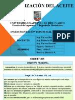 Presentacion - Desodorizacion Del Aceite - Paez - Oggier - Rovere