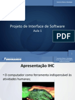 Projeto de Interface de Software