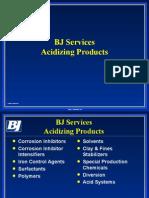 06 Acidizing Product Line Rev 2006-02