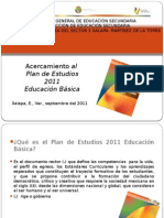 Plan de Estudios 2011 Sc3adntesis Sep 2011