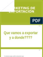 Marketing de Exportación