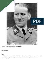 LeMOBiografie-Biografie Ernst Kaltenbrunner