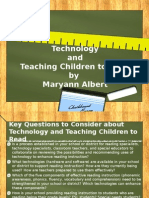 Technology and Reading
