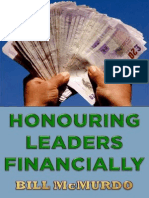 Honouring Leaders Financially