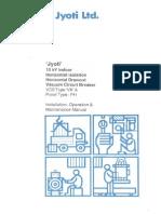 12kv-Indoor Manual Jyoti