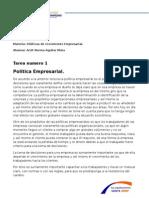 Politica Empresarial