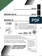 manual de autoestereo kds51