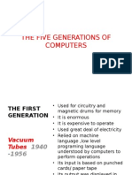 The Five Generations of Computers Finished