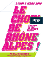 Le Choix de RhÔne Alpes !