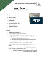 Marshmallows de Morango