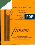 Stinson Voyager Catalog (1948)