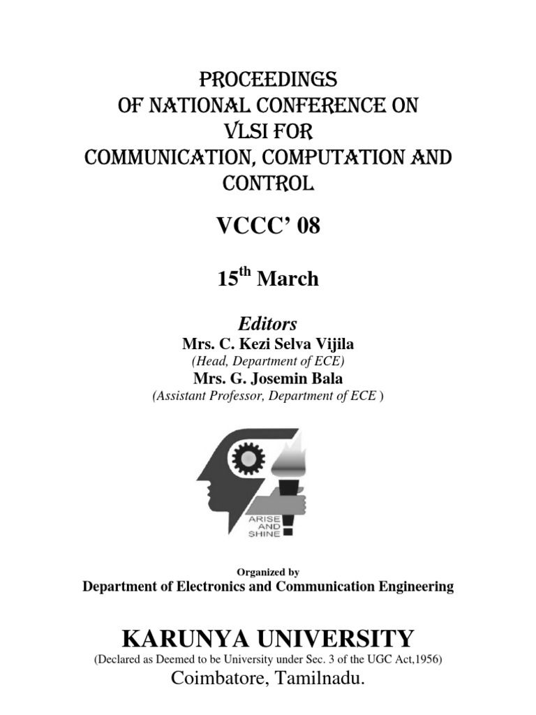 Proceedings Of Vccc081