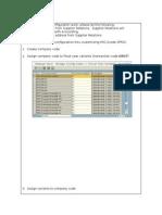 FICA Company Code Configuration