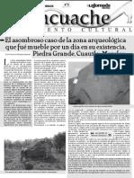 El asombroso caso de la zona arqueológica que fué mueble por un día en su existencia, Piedra Grande, Cuautla, Morelos