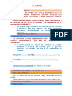 Programa Clausura 2012 2015