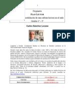 Listado-recomendados Plan Lector primaria-secundaria- Carlos Sanchez