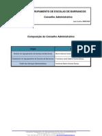 Composição do CAdmin. 09-10