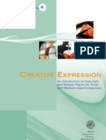 Creative expression - an introduction to Copyright and Related Rights for SMEs