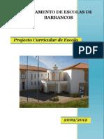 Projecto Curricular de Escola_Barrancos