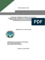 Estudio Del Desarrollo Docente, Las Actividades Cocurriculares, Los Métodos y La Evaluación en La