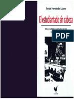 Hernández Lujano, Ismael - El Estudiantiado Sin Cabeza