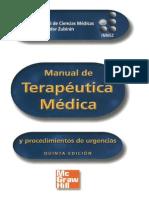 Manual de Terapeutica Y Procedimientos - Zubiran