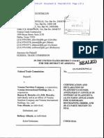 Linville Declaration FTC vs Vemma TRO