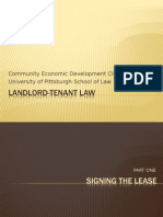 Landlord tenant Rules
