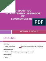 Dispositivo Intrauterino Liberador de Levonogestresl