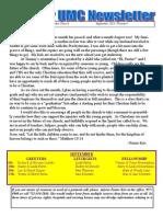 Archer UMC September Newsletter